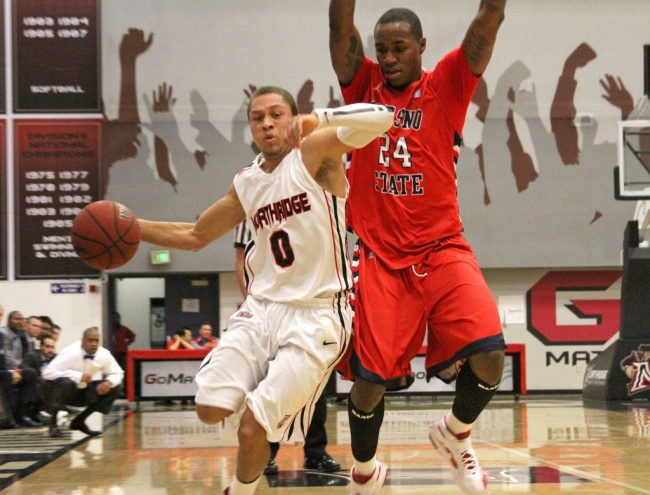 Men's basketball: CSUN shoots nine percent in second half, falls to Fresno State in BracketBuster