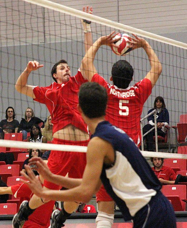 Men's volleyball: CSUN remains winless on the road, falls at UCSB