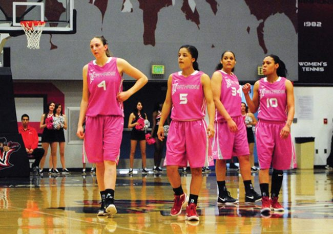 Women's basketball: Matadors hit road one last time to protect top spot