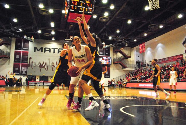 Women's basketball: CSUN blows 19-point lead, loses to LBSU in first round of tournament