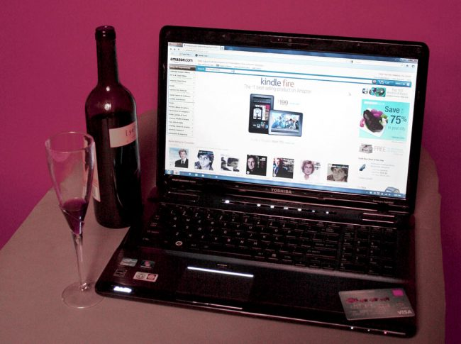 Alcohol intoxication leads to sporadic online shopping