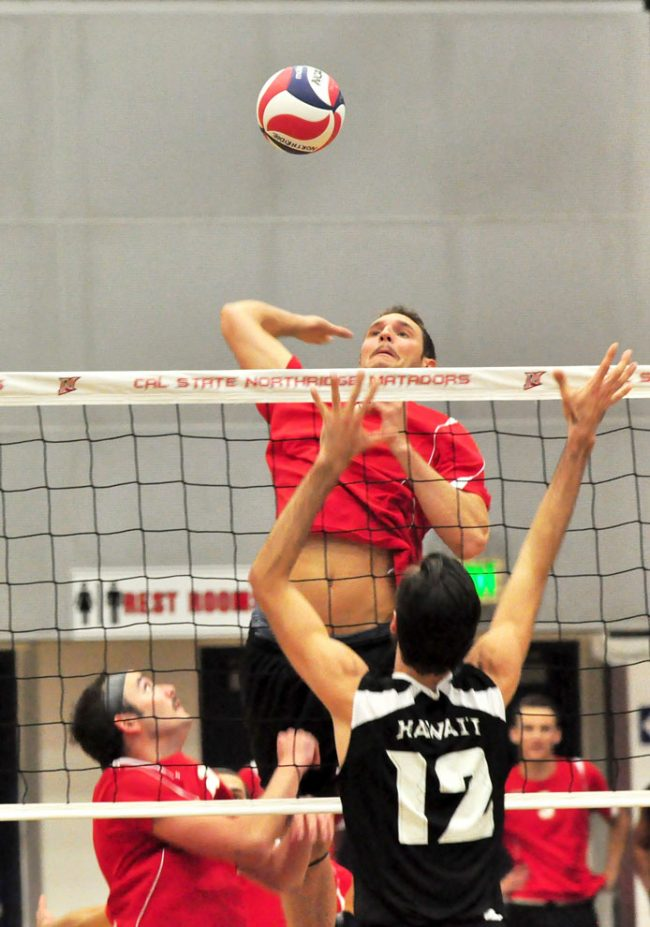 Men's volleyball: BYU challenge: Matadors to face Cougars twice