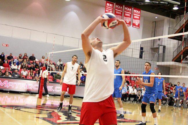Men's volleyball – Ball'ing: Matadors face Ball State tonight