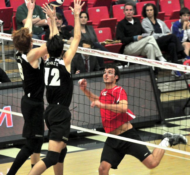 Men's volleyball: Matadors pounded by No. 4 BYU