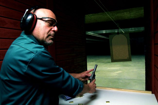 Former teacher opens fully green firearms training center