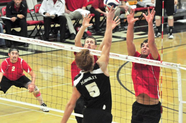 Men's volleyball: Clinging to MPSF's eighth seed, Matadors need victory to secure spot in playoffs