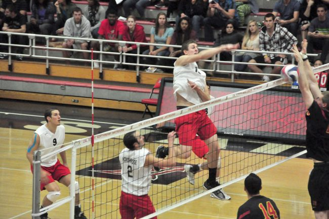 Men's volleyball: No. 8 Matadors visit USC, seek upset of top-seeded Trojans in first round of MPSF Tournament