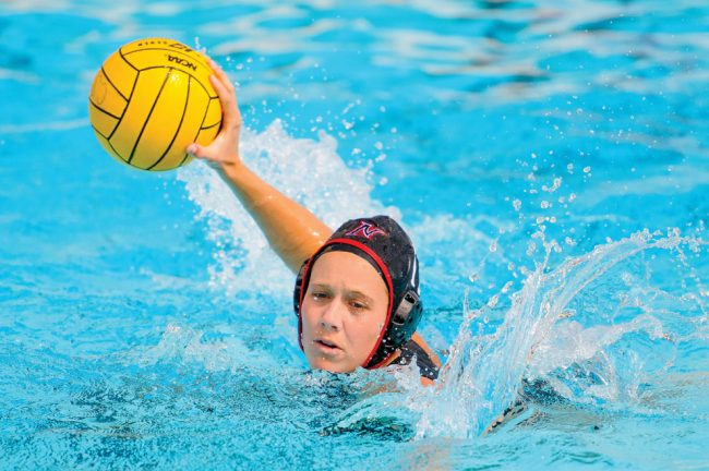 CSUN utility player Jenny Jamison looks for a goal in a game. Jamison and the Matadors head to UC Davis on Friday to face Long Beach State in the first round of the Big West Conference Tournament. Photo courtesy of CSUN Athletics