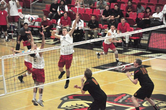 Men's volleyball: With playoff spot secured, CSUN 'uninspired' in loss to USC