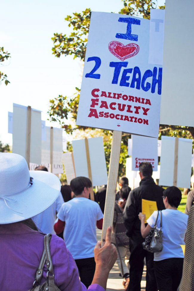 California Faculty Association votes in favor of strike in fall