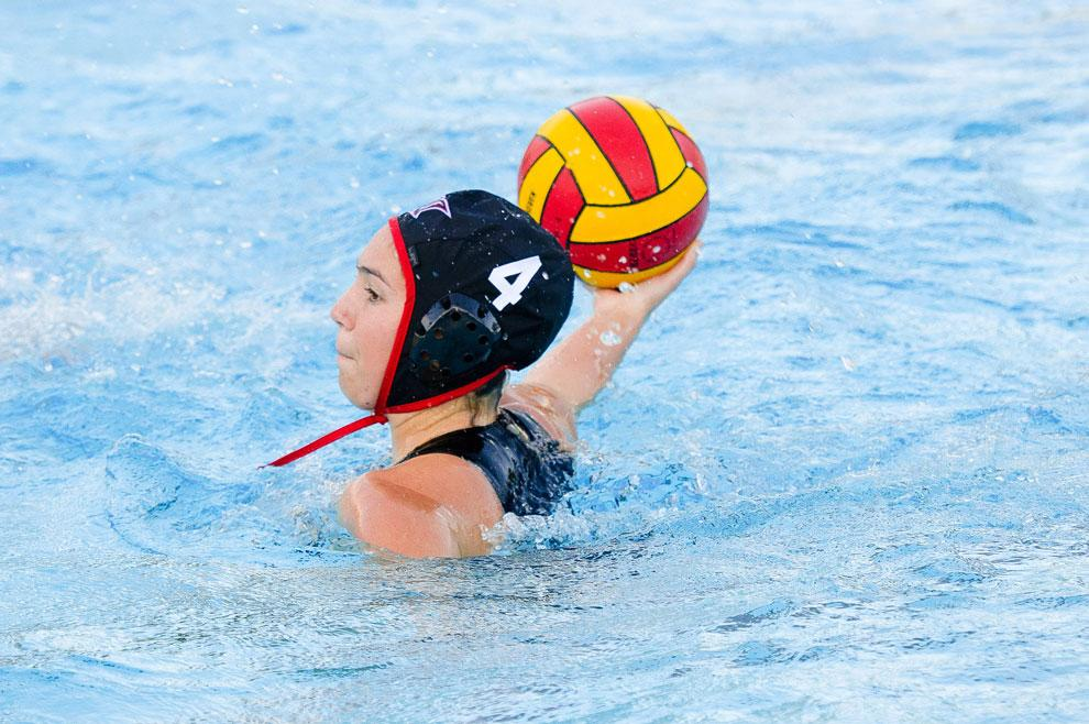 CSUN sophomore attacker Hayley Gurriell scored her first goal as a Matador in a game against Cal Baptist on April 9, 2011. She scored five goals in the 2012 season. Courtesy of CSUN Athletics.
