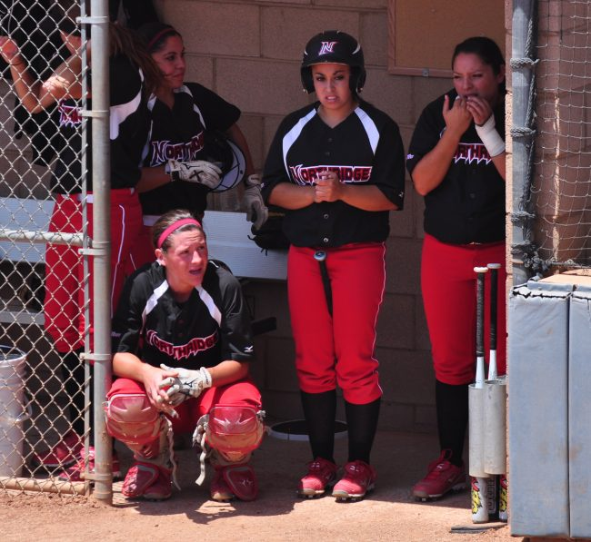Softball: Not a lot of positives in last loss of year as CSUN tries to keep head up