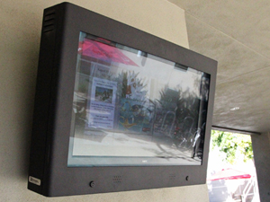 MIND screens around campus keep students up-to-date on information