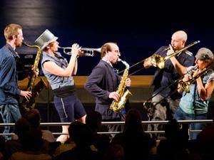 Asphalt Orchestra marches to their own beat at VPAC