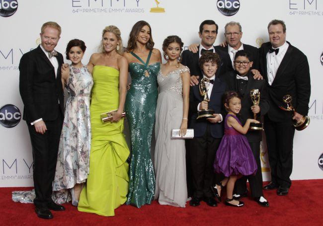 'Homeland' and 'Modern Family' win big at Emmy Awards