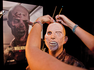 Creating a monster: the makeup and horror behind Universal Studios Horror Nights
