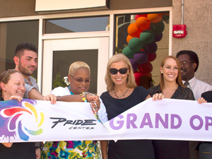 CSUN celebrates the official grand opening of the Pride Center