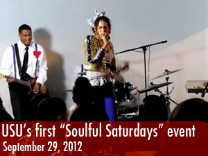 USU's first 'Soulful Saturdays' event of the semester