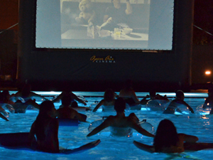 'Dive-in' movie makes a splash at SRC