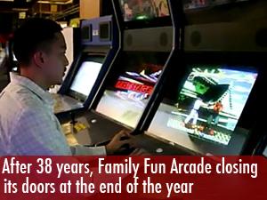 Family Fun Arcade closing its doors