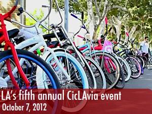 LA's fifth annual CicLAvia event