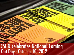 CSUN celebrates National Coming Out Day