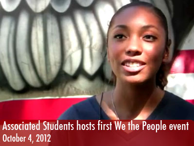 Associated Students hosts first We the People event