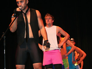 Greeks hold talent show fundraiser
