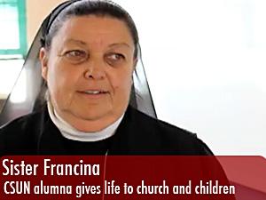 Sister Francina, a matador educator