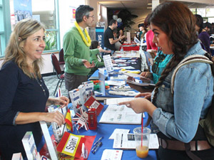 Students learn about studying abroad