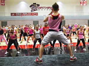 Second annual 'Zumbathon!' raises money for breast cancer research