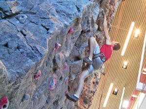 CSUN rock climber lives on the edge
