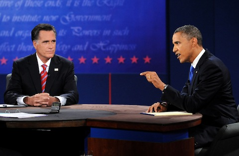 Column: Obama and Romney battle to split decision after three rounds of debate