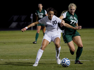 Women's Soccer: CSUN blanks Cal Poly for first-ever playoff victory