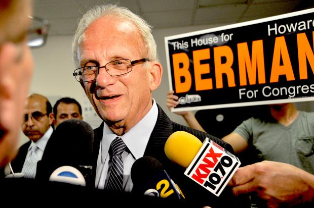 Howard+Berman%27s+end+of+campaign+party