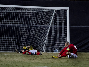 Men's Soccer: Northridge eliminated from NCAA Tournament in double overtime thriller