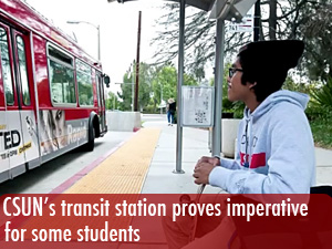 New transit station proves imperative for some students
