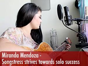 Songstress strives towards solo success