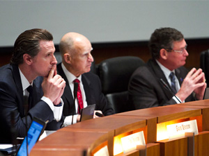 Board of trustees express disappointment with Gov. Brown's budget at first 2013 meeting