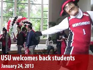 USU Spring Kickoff welcomes back students and celebrates SRC