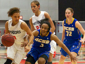 Women's Basketball: UCSB gives CSUN third straight loss