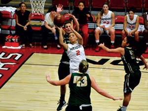 Women's Basketball: Matadors Snap Three Game Losing Streak