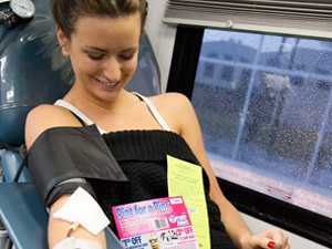 Students donate blood to help others