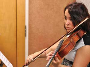 Music enthusiast joins The Harmony Project after discovering her passion for the viola