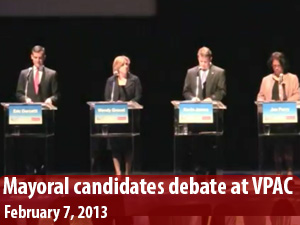 LA Mayoral candidates face off in debate at VPAC