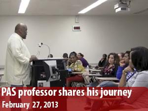 From Watts to Harvard, CSUN Pan African Studies professor shares his journey
