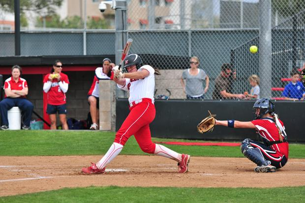 Senior catcher Mikayla Thielges will be an integral part of the Matadors season, after leading the team with seven home runs in 2012. File Photo / Daily Sundial