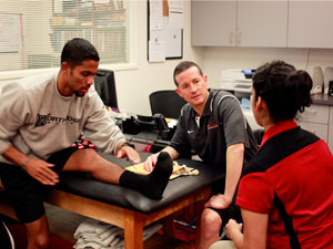 Athletic Training Center helps keep athletes in the game