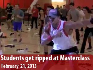 CSUN students push their limits at SRC master class