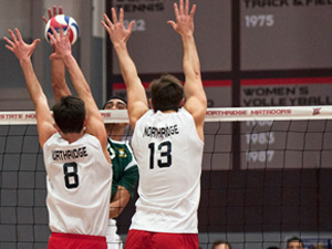 Men's Volleyball: Third-ranked Stanford hand Matadors their second home loss